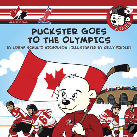 Puckster Goes to the Olympics by
