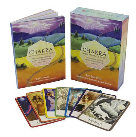 Chakra Wisdom Oracle Cards by