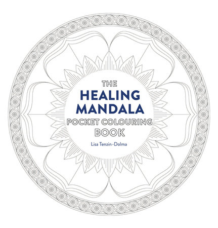 Healing Mandala Pocket Coloring Book