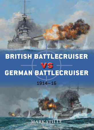 British Battlecruiser vs German Battlecruiser by