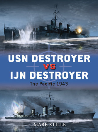 USN Destroyer vs IJN Destroyer by
