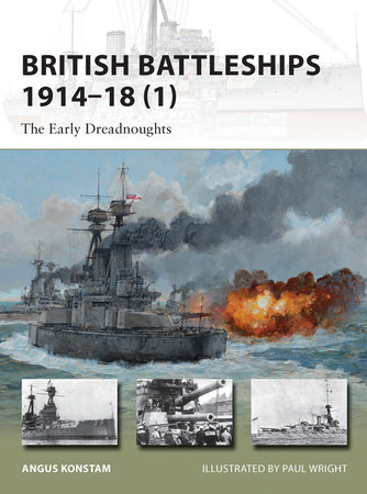 British Battleships 1914-18 (1) by Angus Konstam
