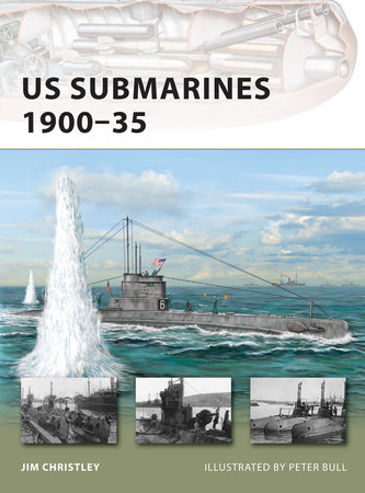 US Submarines 1900-35 by