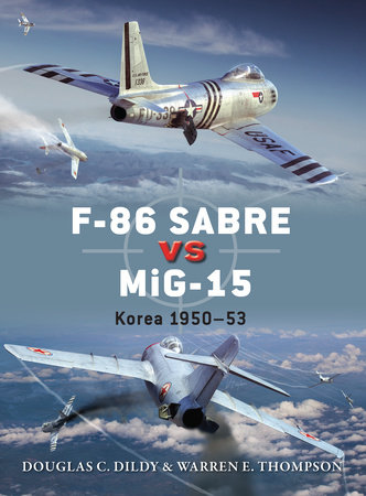 F-86 Sabre vs MiG-15 by Doug Dildy