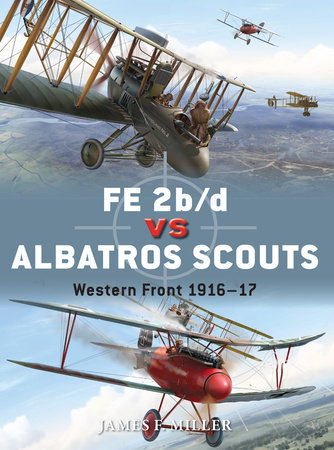 FE 2b/d vs Albatros Scouts by James Miller
