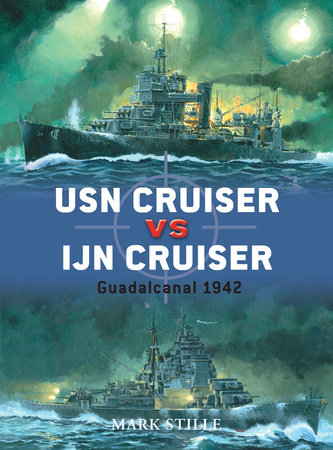 USN Cruiser vs IJN Cruiser by