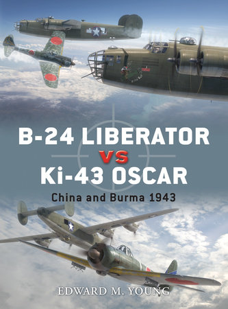 B-24 Liberator vs Ki-43 Oscar by