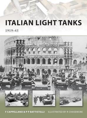 Italian Light Tanks by Pier Paolo Battistelli and Filippo Cappellano