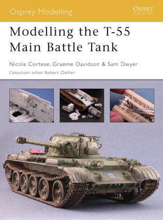Modelling the T-55 Main Battle Tank by