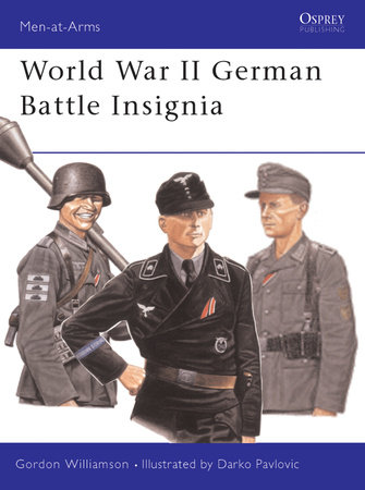 World War II German Battle Insignia by