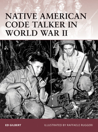 Native American Code Talker in World War II by