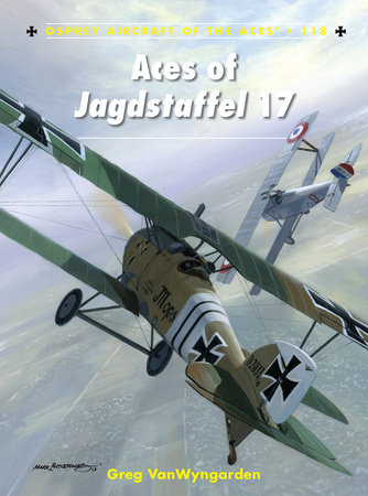 Aces of Jagdstaffel 17 by Greg Vanwyngarden