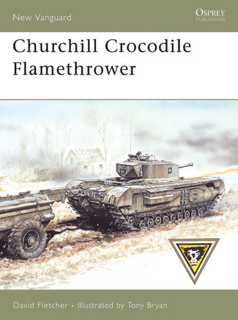 Churchill Crocodile Flamethrower by David Fletcher
