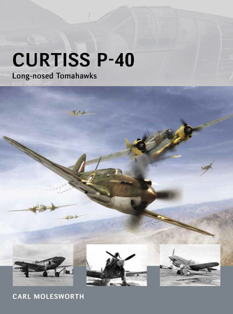 Curtiss P-40 - Long-nosed Tomahawks by Carl Molesworth