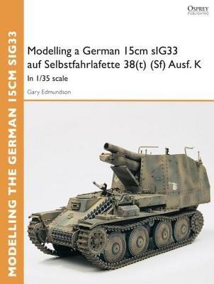 Modelling a German 15cm sIG33 auf Selbstfahrlafette 38(t) (Sf) Ausf.K by