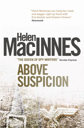Cover art for Above Suspicion