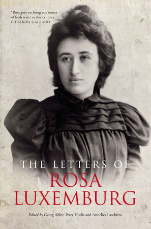 The Letters Of Rosa Luxemburg by Rosa Luxemburg