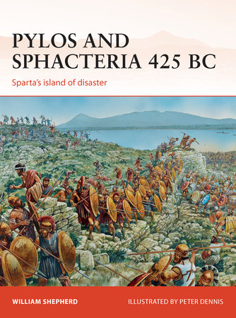Pylos and Sphacteria 425 BC by William Shepherd