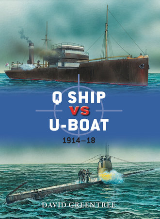 Q Ship vs U-Boat by David Greentree