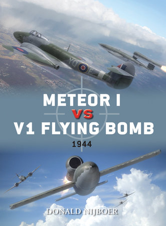 Meteor I vs V1 Flying Bomb by