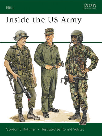 Inside the US Army by Gordon Rottman