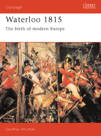 Waterloo 1815 by Geoff Wootten