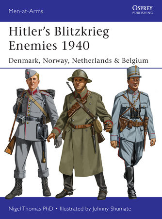 Hitler's Blitzkrieg Enemies 1940 by