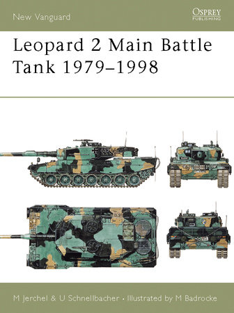 Leopard 2 Main Battle Tank 1979-98 by Michael Jerchel
