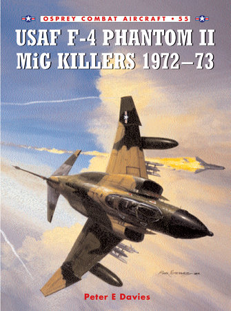 USAF F-4 Phantom II MiG Killers 1972-73 by Peter Davies
