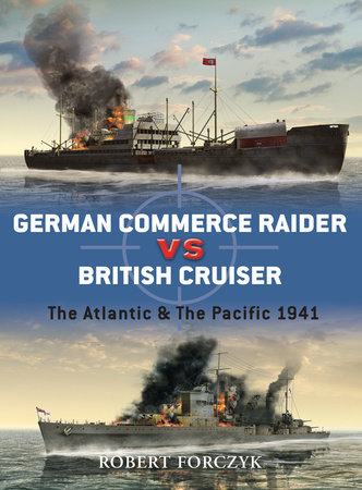 German Commerce Raider vs British Cruiser