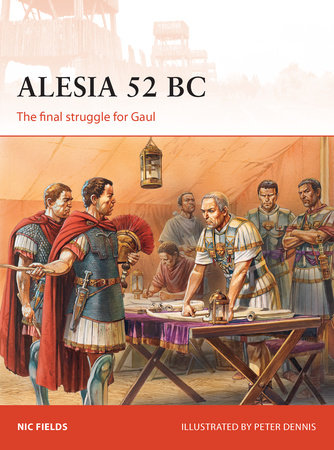 Alesia 52 BC by Nic Fields