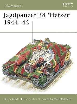 Jagdpanzer 38 'Hetzer' 1944-45 by Hilary Doyle