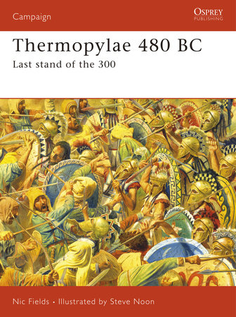 Thermopylae 480 BC by Nic Fields