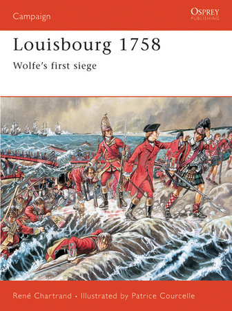 Louisbourg 1758 by Rene Chartrand