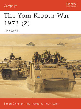 The Yom Kippur War 1973 (2) by Simon Dunstan