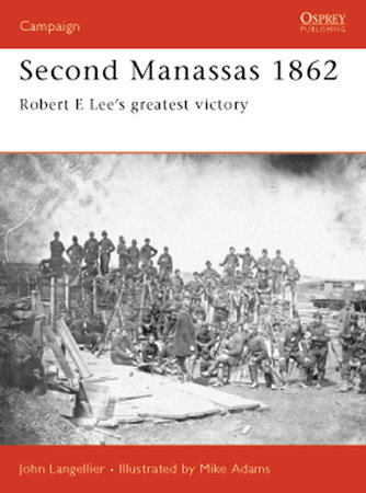 Second Manassas 1862 by John Langellier