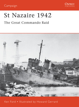 St Nazaire 1942 by