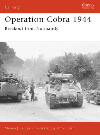 Operation Cobra 1944 by