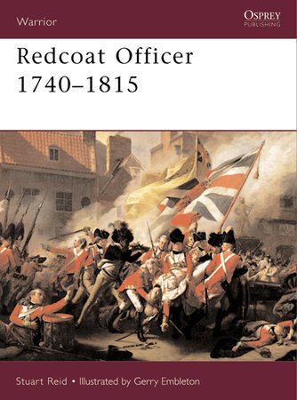 Redcoat Officer by Stuart Reid