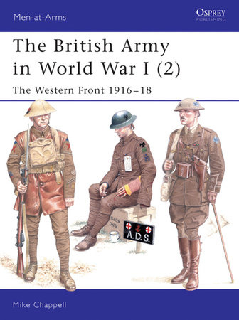 The British Army in World War I (2) by Mike Chappell