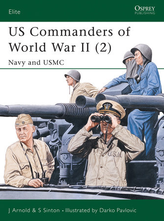 US Commanders of World War II (2) by James Arnold