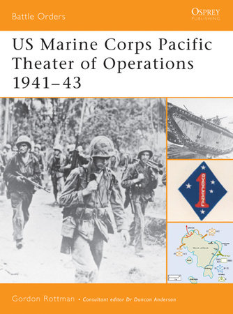 US Marine Corps Pacific Theater of Operations 1941-43 by