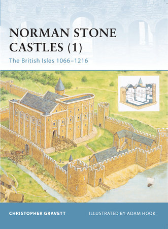 Norman Stone Castles (1) by Christopher Gravett