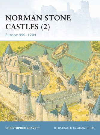 Norman Stone Castles (2) by Christopher Gravett
