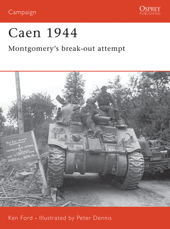 Caen 1944 by Ken Ford