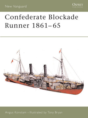 Confederate Blockade Runner 1861-65 by