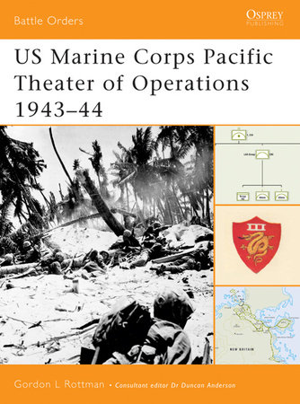 US Marine Corps Pacific Theater of Operations 1943-44 by