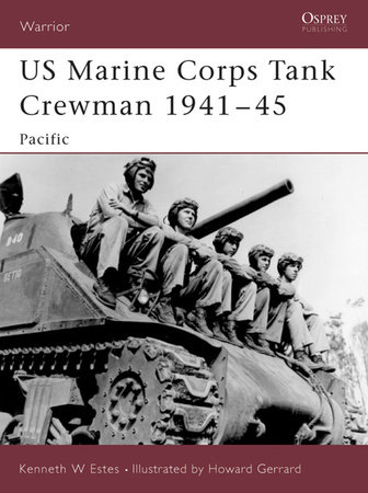 US Marine Corps Tank Crewman 1941-45 by