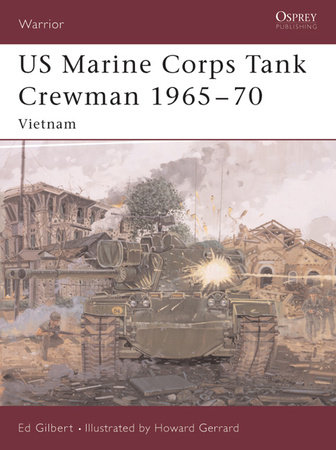 US Marine Corps Tank Crewman 1965-70 by