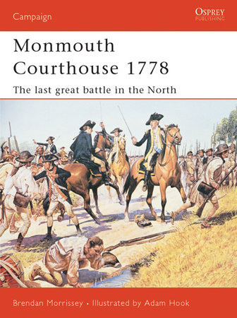 Monmouth Courthouse 1778 by Brendan Morrissey